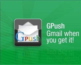 Les mails Gmail enfin en Push grace a Gpush ! Gpush11